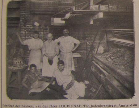 Personeel van de bakkerij van louis snapper bron for Bakkerij amsterdam west
